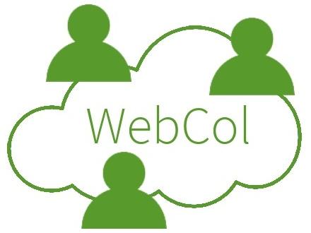 Logo de WebCol produit d'Amplitex contenant le logiciel Échantillonnage